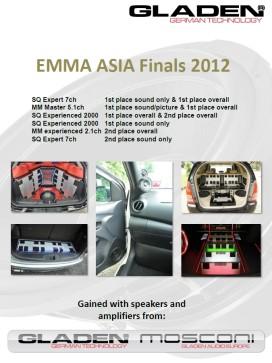 EMMA ASIA Finals 2012